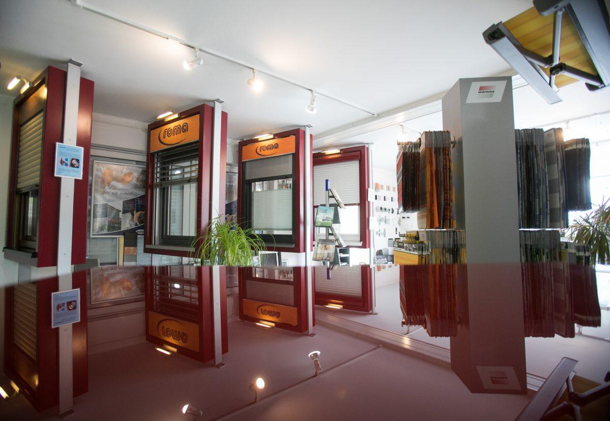 Ausstellungsräume von Kaiser Fenster in Meschede